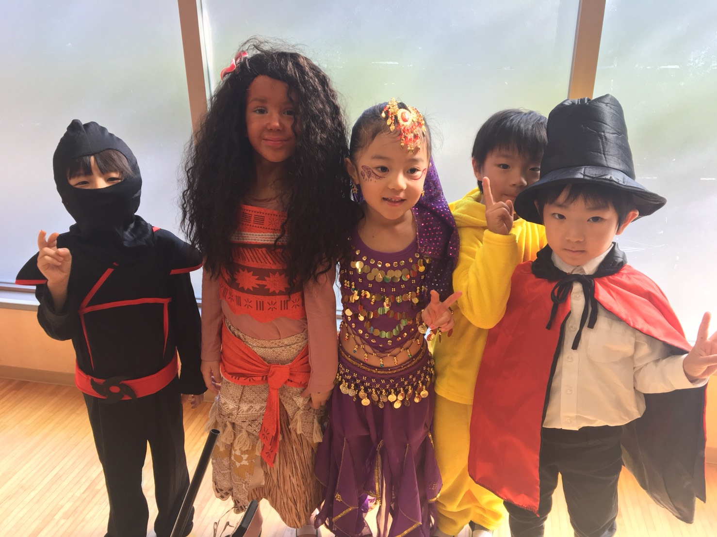 Halloween Party 2017  ~Nagoya, Kakuozan International Preschool ~