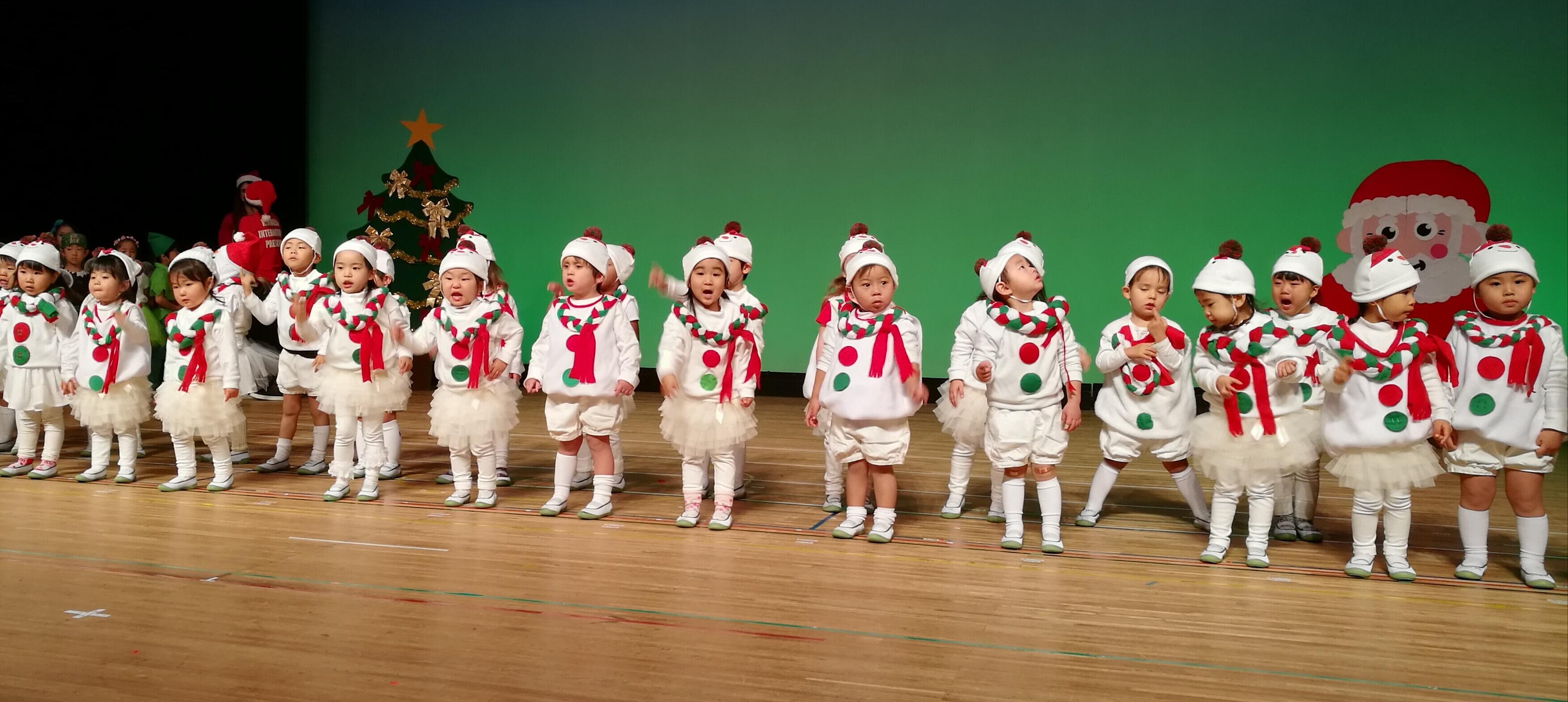 Christmas Concert 2017  ~Nagoya, Kakuozan International Preschool ~