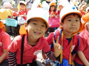 Easter Egg Hunting ~Nagoya, Kakuozan International Preschool ~