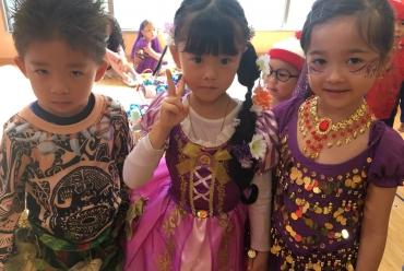 覚王山インターナショナルプリスクールのハロウィーンパーティー