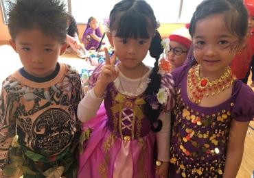 覚王山インターナショナルプリスクールのハロウィーンパーティー|名古屋市千種区バイリンガル幼稚園
