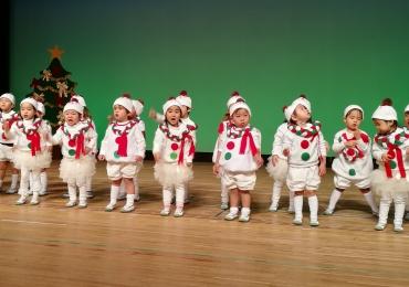 覚王山インターナショナルプリスクール毎年恒例のイベントクリスマスコンサート2017|名古屋市千種区バイリンガル幼稚園