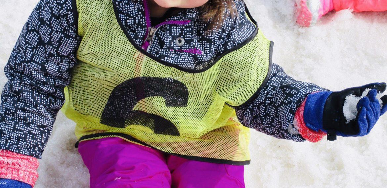雪そり滑り