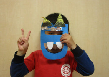 Setsubun 2021 ~ Ogre visits Kakuozan International Preschool!