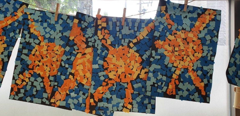 Marvellous Mosaics オリジナルの飾りを作りました!