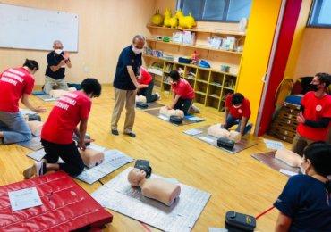 心肺蘇生トレーニング